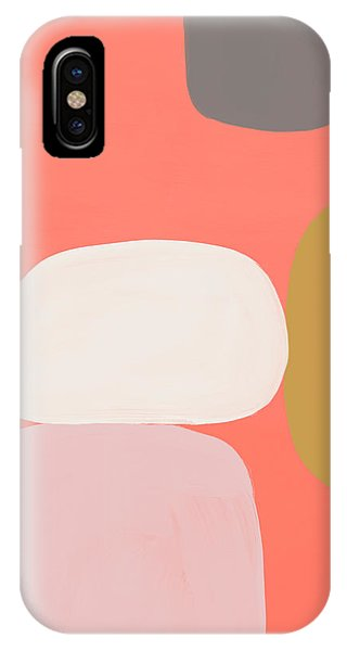 Pink iPhone Case - Coral Stones 1- Art By Linda Woods by Linda Woods