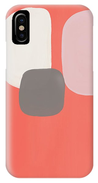 Pink iPhone Case - Coral Stones 2- Art By Linda Woods by Linda Woods