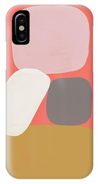 Pink iPhone Case - Coral Stones 3- Art By Linda Woods by Linda Woods