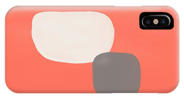 Pink iPhone Case - Coral Stones 4- Art By Linda Woods by Linda Woods