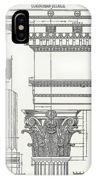 Corinthian Architecture IPhone Case