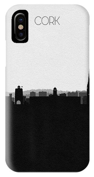Irish iPhone Case - Cork Cityscape Art by Inspirowl Design