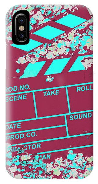 Movie iPhone Case - Corny Production by Jorgo Photography - Wall Art Gallery