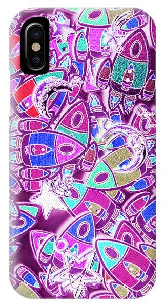 Cartoon iPhone Case - Cosmic Creativity by Jorgo Photography - Wall Art Gallery