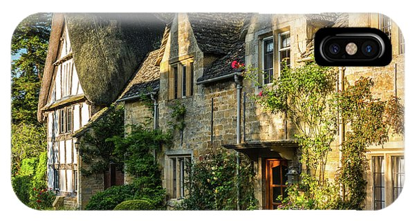 Cotswold Cottages, Stanton, Gloucestershire Phone Case by David Ross