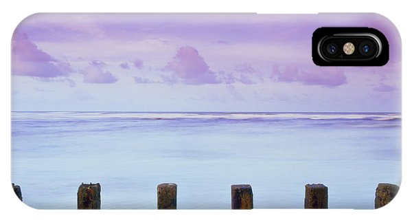 Cotton Candy Skies Over The Sea IPhone Case