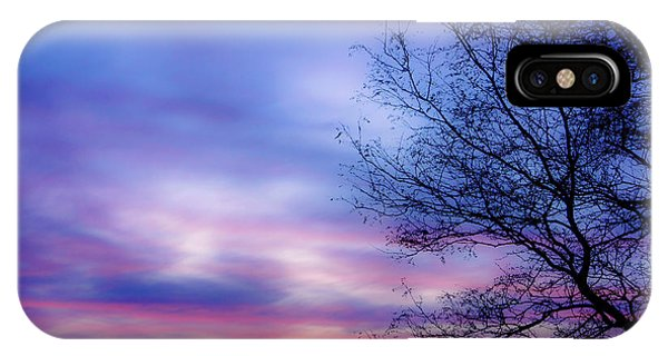 Cotton Candy Sunset In October IPhone Case