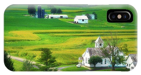 Faith iPhone Case - Country Church by Tom Mc Nemar