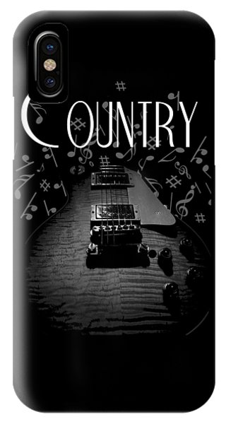 Country Music Guitar Music IPhone Case