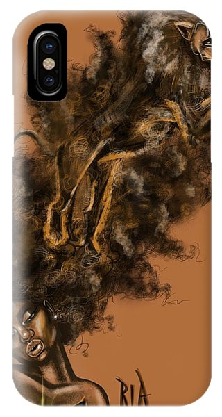 iPhone Case - Courageous Me by Artist RiA