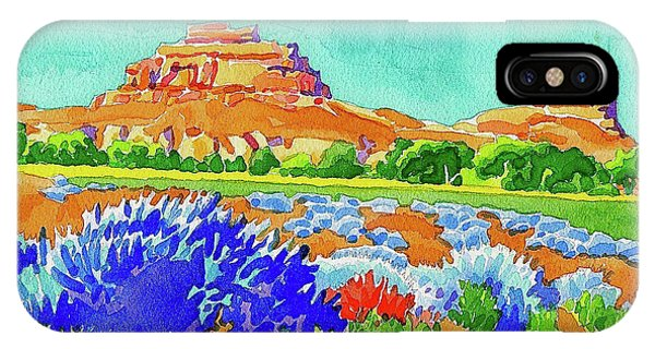 IPhone Case featuring the painting Courthouse And Jail Watercolor by Dan Miller