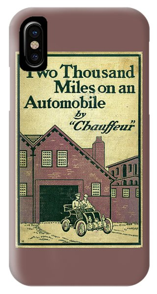 Cover Design For Two Thousand Miles On An Automobile IPhone Case