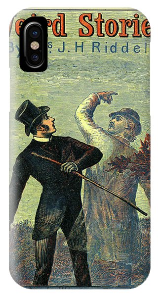 Victorian Yellowback Cover For Weird Stories IPhone Case