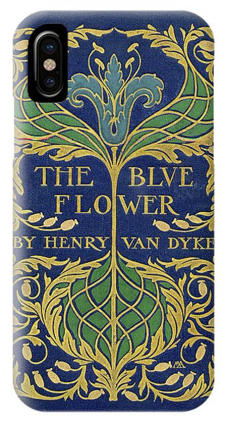 Cover Design For The Blue Flower IPhone Case