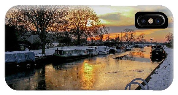 Cranfleet Canal Boats IPhone Case