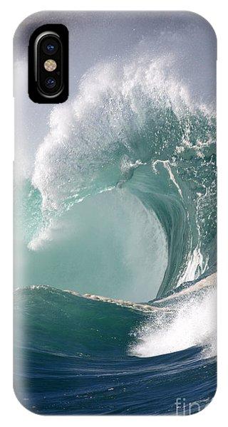 Crashing Wave Phone Case by Mana Photo