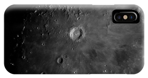 Crater Copernicus IPhone Case