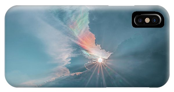 Crazy Luminescence IPhone Case