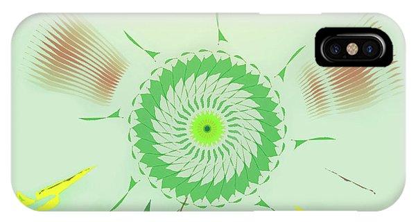 Crazy Spinning Flower IPhone Case