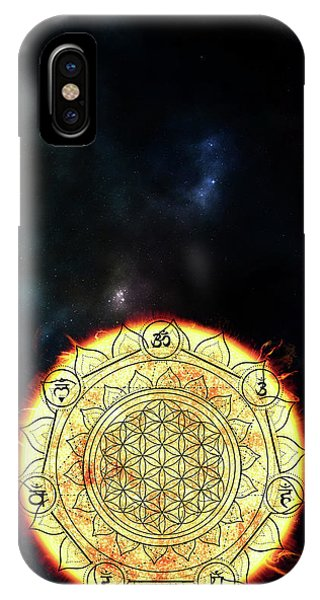 IPhone Case featuring the digital art Creative Force by Bee-Bee Deigner