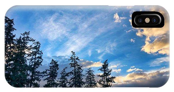 Crisp Skies IPhone Case