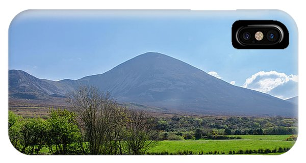 iPhone Case - Croagh Patrick In County Mayo Ireland by Bill Cannon