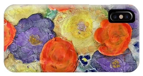 Crochet Bouquet IPhone Case