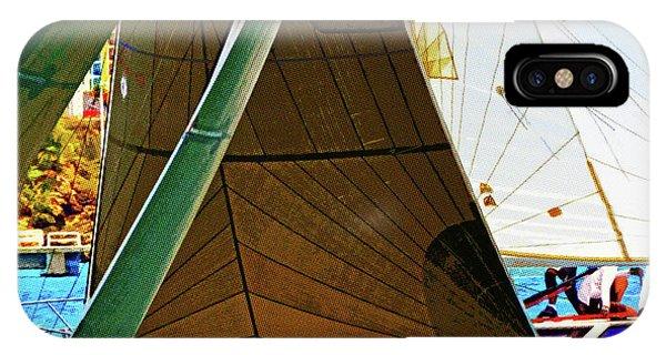 Crossing Sails IPhone Case