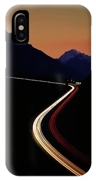 IPhone Case featuring the photograph Crossing The Alps by Edmund Nagele