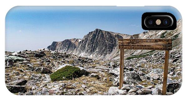 Crossroads At Medicine Bow Peak IPhone Case