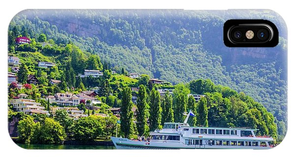 Cruising Lake Lucerne IPhone Case