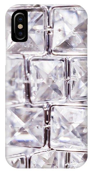 Crystal Bling V IPhone Case