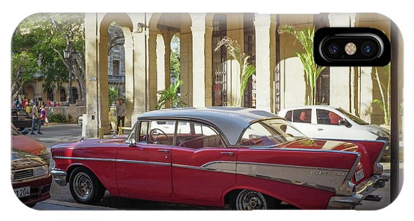 Cuban Chevy Bel Air IPhone Case