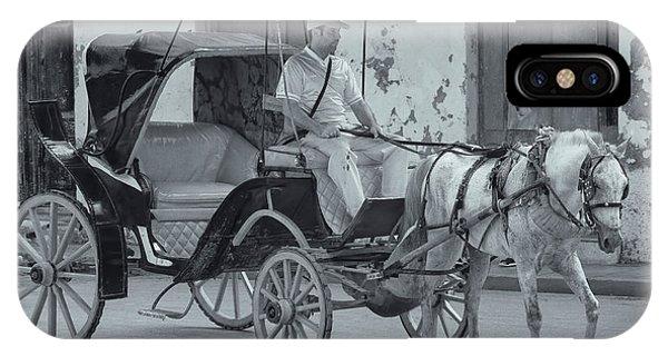 Cuban Horse Taxi IPhone Case