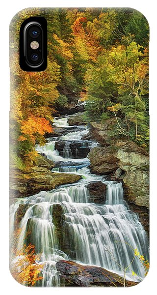 Cullasaja Falls IPhone Case