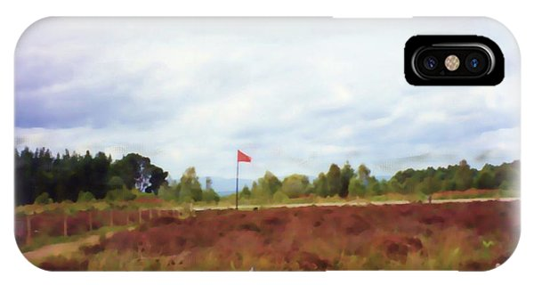 Culloden Battlefield Painting IPhone Case