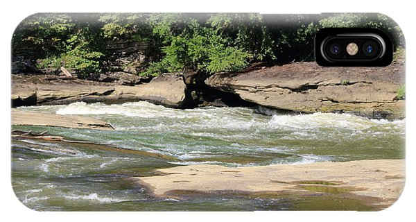 IPhone Case featuring the photograph Cumberland River by Angela Murdock