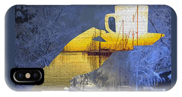 Cup Of Tea In The Winter Evening IPhone Case