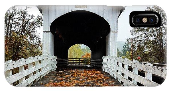 Curin Covered Bridge 1 IPhone Case