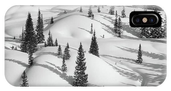 San Miguel iPhone Case - Curves Of The Forest by Bridget Calip