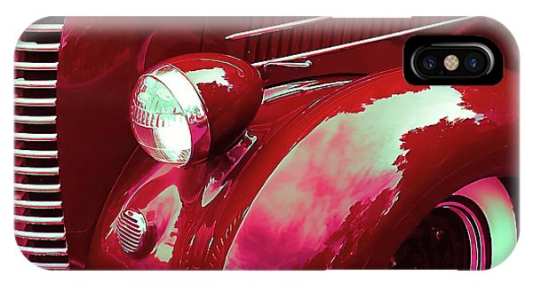 Custom 1936 Ford Nash Grill IPhone Case