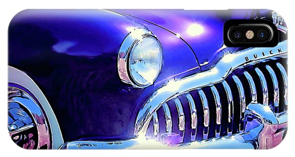 Custom 1949 Purple Buick IPhone Case