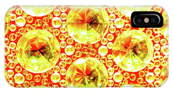 Cut Glass Beads 3 IPhone Case