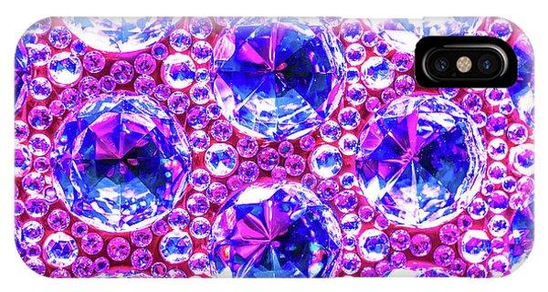 Cut Glass Beads 4 IPhone Case
