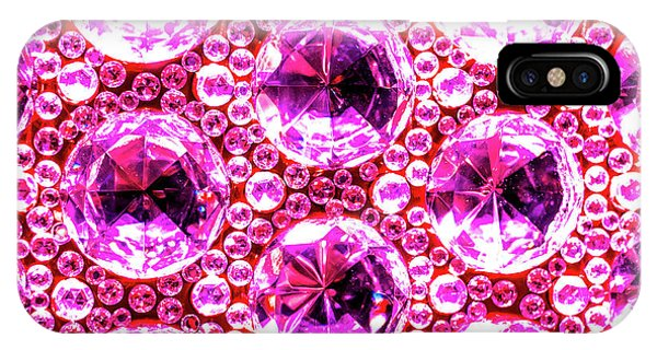 Cut Glass Beads 6 IPhone Case