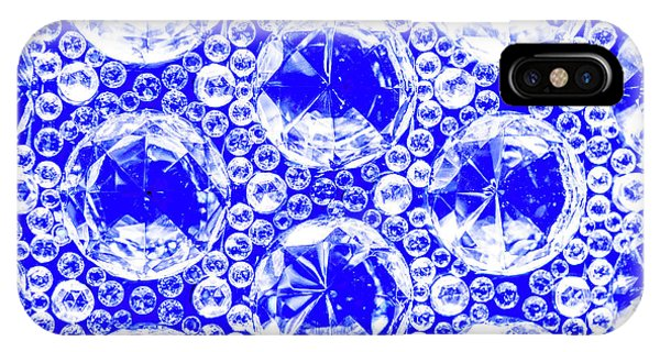 Cut Glass Beads 1 IPhone Case