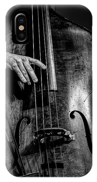 Strum iPhone Case - Daddy Played Bass by Mike Lang