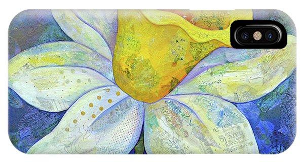White Tulip iPhone Case - Daffodil Festival II by Shadia Derbyshire