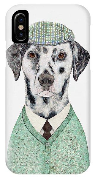 Animal iPhone Case - Dalmatian Mint by Animal Crew