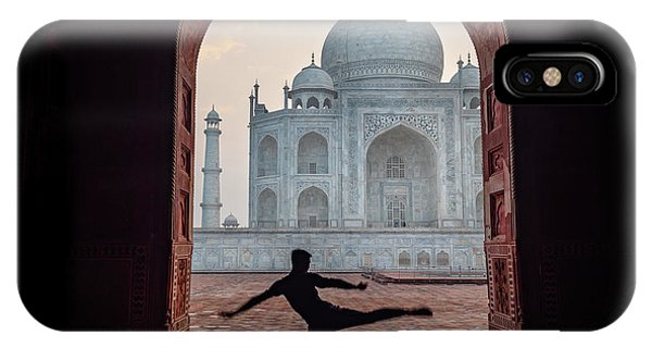 Dancer At The Taj IPhone Case